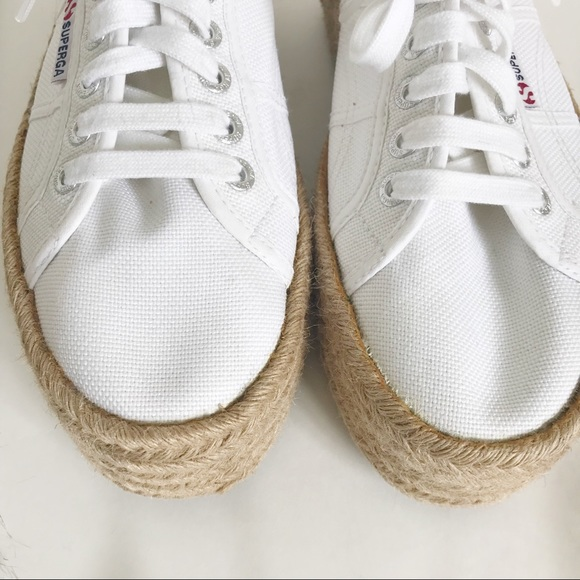 8abdf5fb0 SUPERGA 2750 Espadrille Platform White Sneaker. Superga.  M_5b789bb2fb3803fcb15f8c91. M_5b789bb4fb38030a1f5f8cfd.  M_5b789bb6e9ec8986f0064219